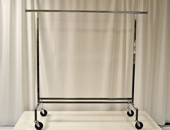 Item #110 - Free Standing Rolling Rack