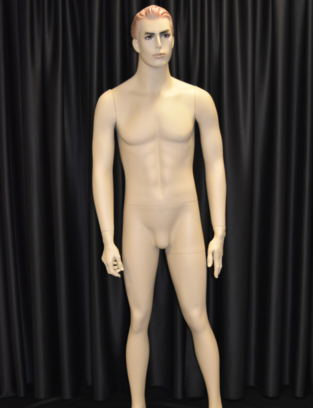 Item #213 - Male Mannequin - beige with head