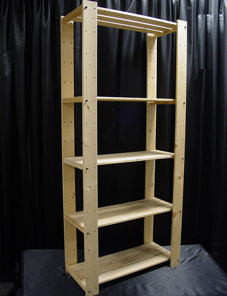 Item #504 - Shelving unit